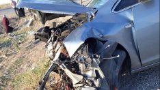 Düğün dönüşü kaza: 8 yaralı