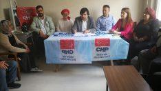 CHP, Osmancık ve Kargı'da partililerle buluştu