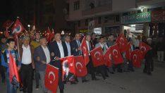 Sungurlu'da 'Büyük Cumhuriyet Yürüyüşü'
