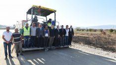 Erzurum Dede'ye 14 metrelik yol