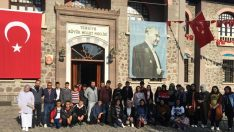 Hacıhamzalı öğrencilerden Başkent gezisi