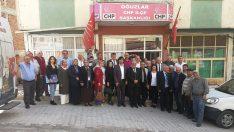 CHP'nin ilçe toplantıları tamamlandı