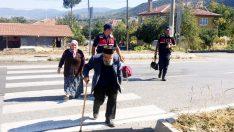Laçin'de 'Yaya Güvenliğinin Nöbetçisiyiz' etkinliği