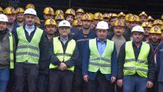 Madencilerin yol sorununa destek sözü