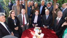 Akşener'e Sungurlu'da coşkulu karşılama
