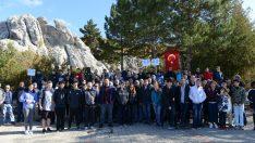 Olimpiyat çocukları Hattuşa'yı gezdi
