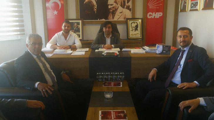 Hakverdi ve Yollu'dan CHP İl Örgütü'ne ziyaret