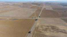 Alaca'da arazi toplulaştırma çalışmaları tam gaz…