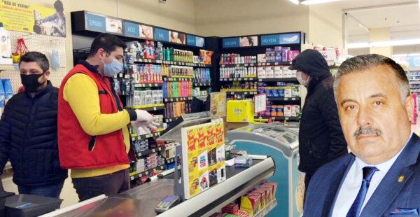 Esnaf ve vatandaşlara maske uyarısı