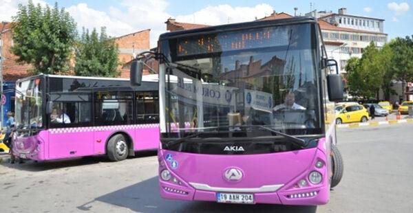 Şehir içi toplu ulaşım araçlarında yeni düzenleme
