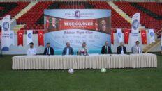 Çorum'a 69,5 milyon TL'lik spor yatırımı