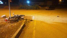 Osmancık'ta trafik kazası; 1 yaralı