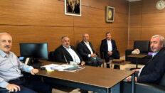 ÇESOB Başkanı Gür'den Zeki Gül'e ziyaret