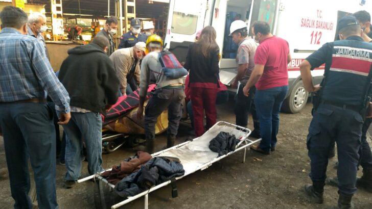 Maden ocağında göçük: 1 ölü, 3 yaralı