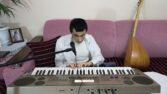 Engelli genç, müzik tutkusuyla hayata bağlandı