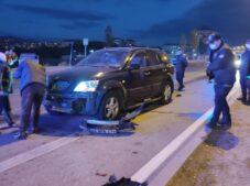 Sungurlu'da kaza: 1 yaralı
