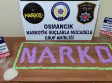 Osmancık'ta uyuşturucu operasyonu