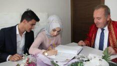 Sungurlu'da 2020 yılında 223 çift evlendi