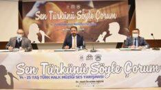 """""""Sen Türkünü Söyle Çorum"""""""