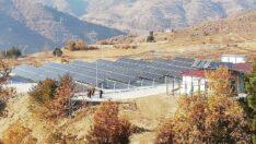 Oğuzlar'da güneş enerji santrali tamamlandı