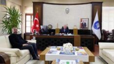 Demirci, Başkan Aşgın ile görüştü