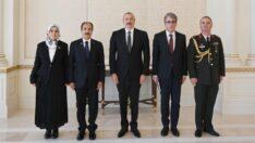 Büyükelçi Bağcı, Aliyev'e güven mektubunu sundu