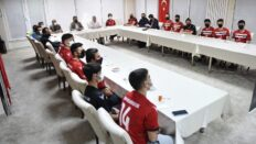 Başkan Aşgın'dan GSK'lı voleybolculara moral