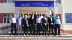 Başkan Şaltu'dan Emniyet Müdürü Kırıkçı'ya ziyaret