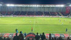 Çorum FK: 1, Serik Belediyespor: 0